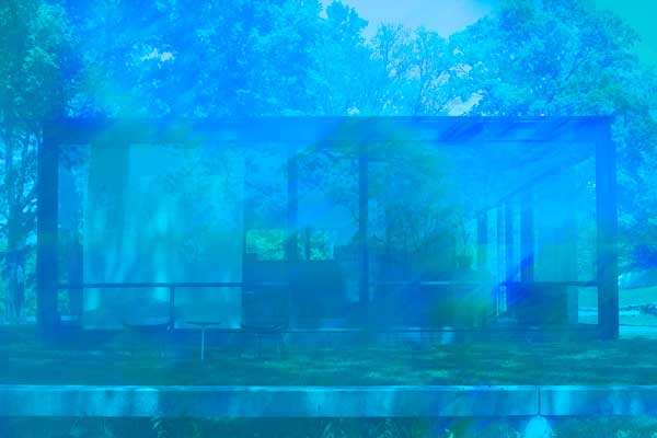 James Welling: Glass House 5905