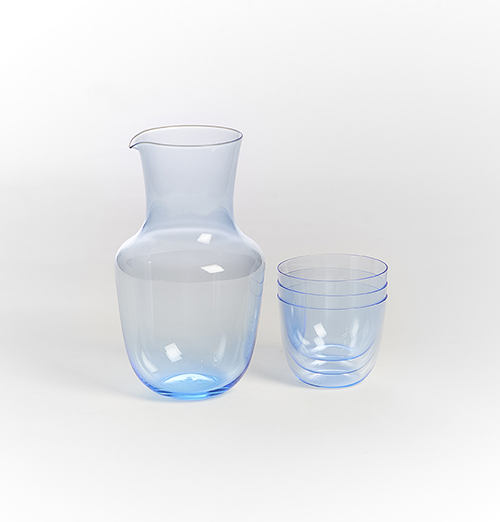 Alpha Pitcher~J&L Lobmeyr (pieces sold separately) MAIN