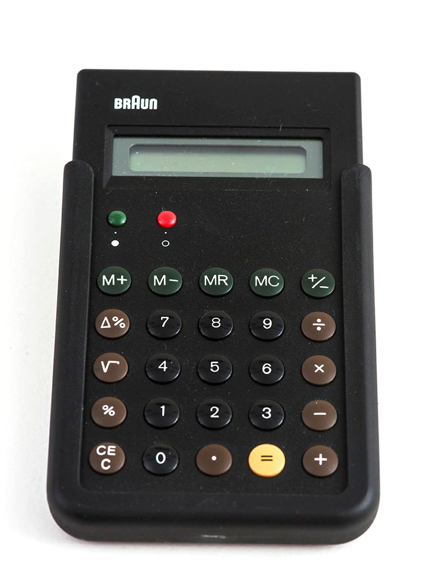 Braun Calculator THUMBNAIL