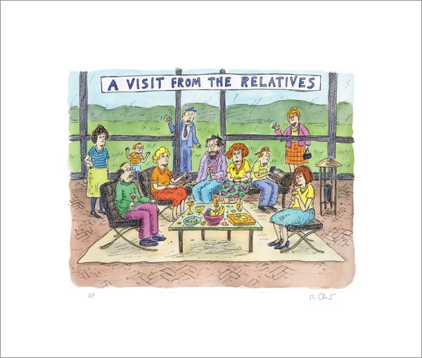 Roz Chast: A Visit From The Relatives