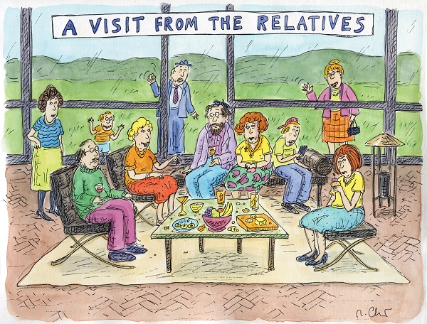 Roz Chast: A Visit From The Relatives THUMBNAIL