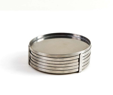 Stainless Steel Coasters~Arne Jacobson