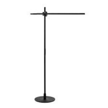 CSYS Tall LED Floor Lamp, Blk.