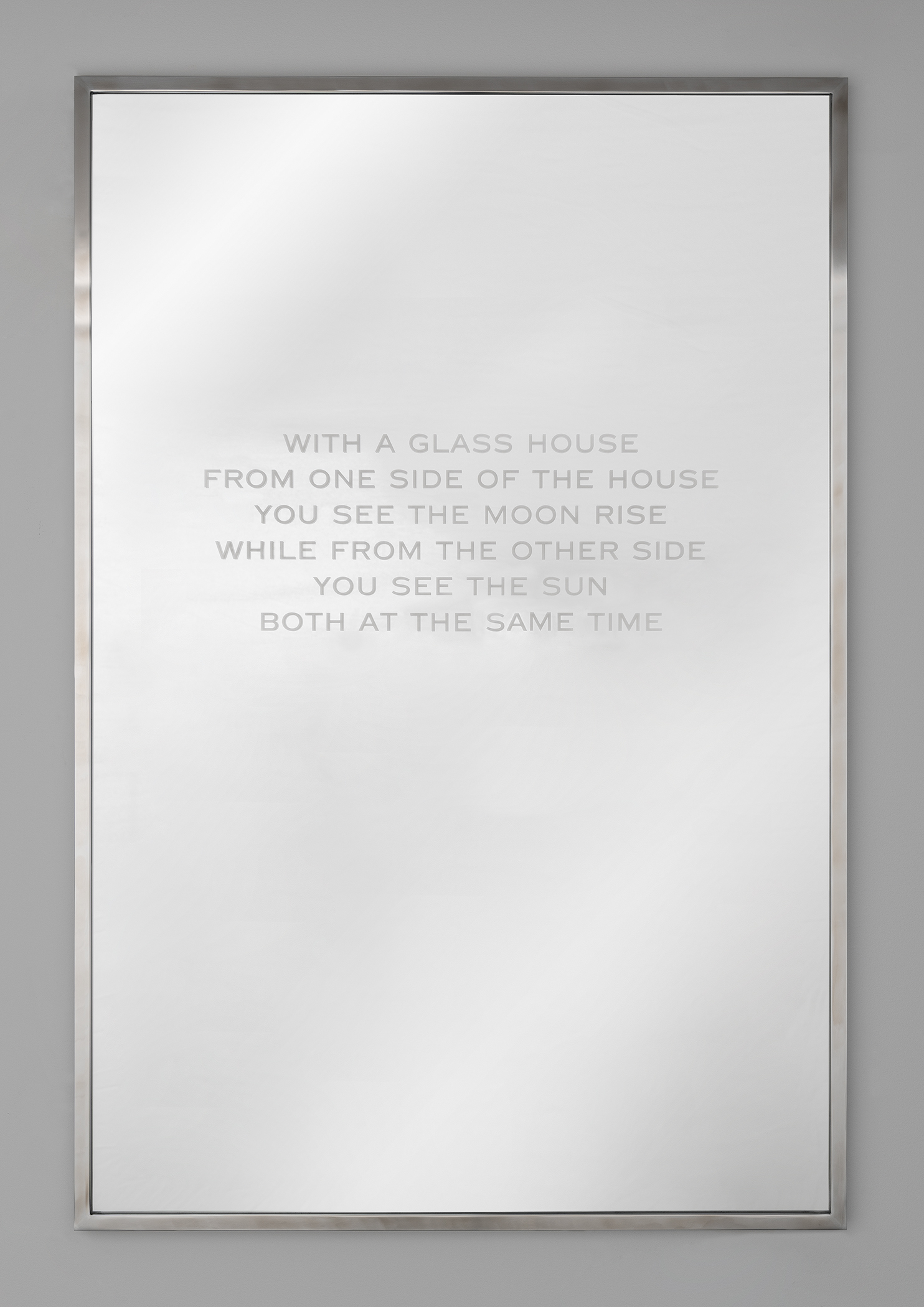 Jenny Holzer: In a Glass House MAIN