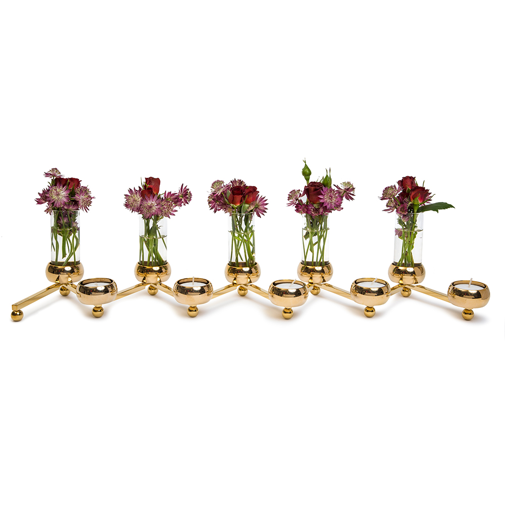 Constella Glass Vase Fittings ( set of 5) THUMBNAIL