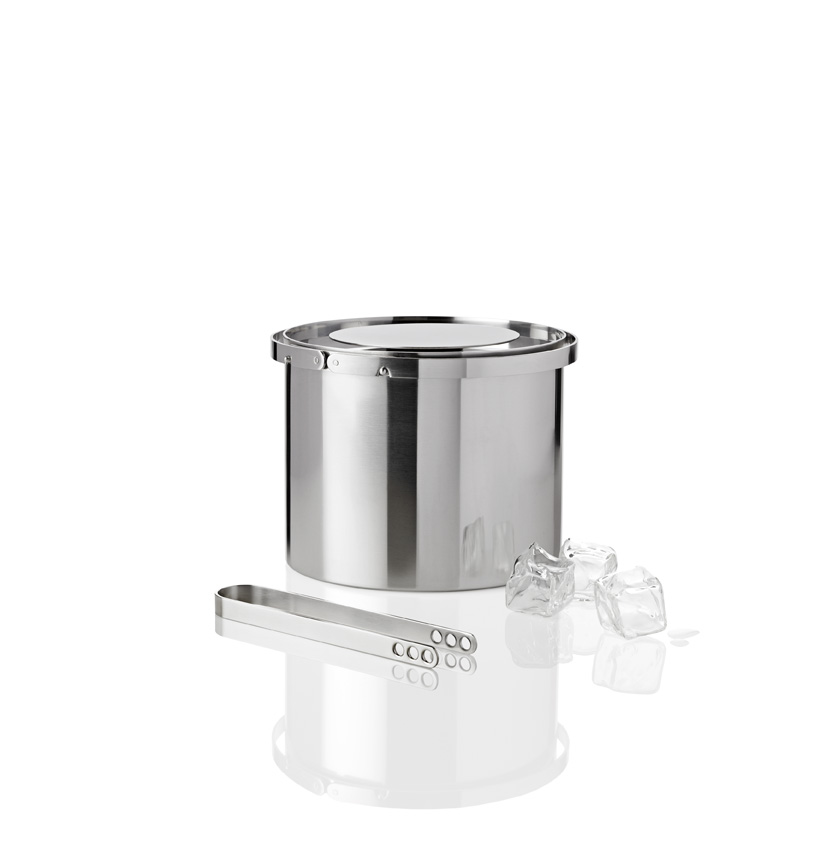 Stainless Steel Ice Bucket~Arne Jacobson(Ice Tongs sold separately)