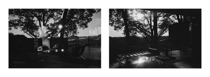 Mauro Restiffe: Glass House #8 and Glass House #9 Diptych