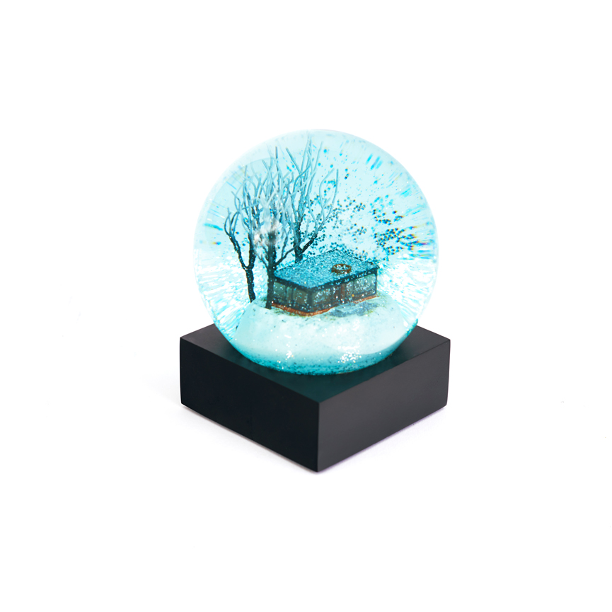 Limited Edition Blue Snow Globe