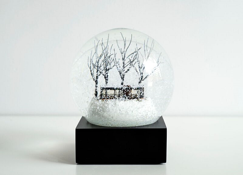 Glass House Snow Globe_LARGE