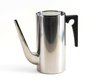 Stainless Steel Coffee Pot~Arne Jacobson_THUMBNAIL