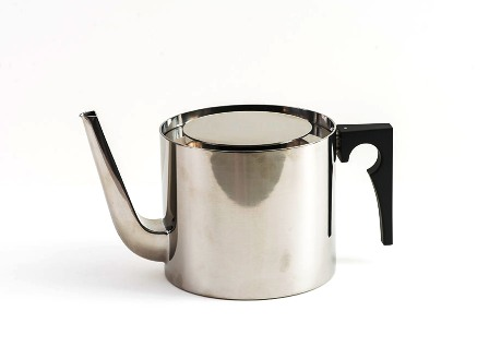 Stainless Steel Tea Pot~Arne Jacobson_THUMBNAIL