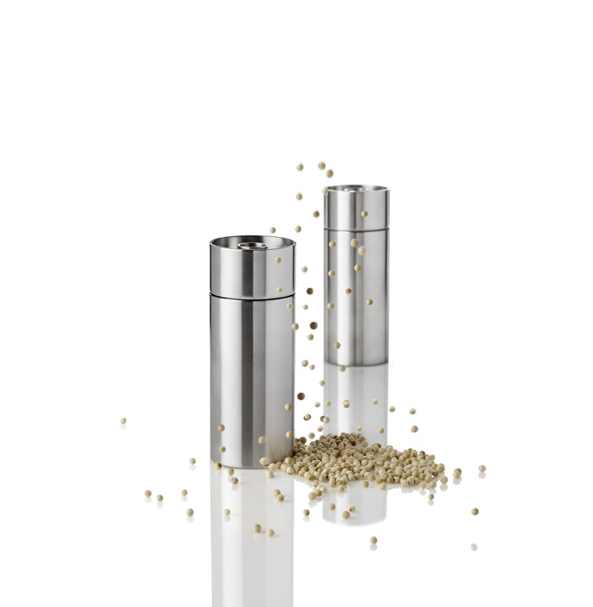Stainless Steel Pepper Mill~Arne Jacobson MAIN