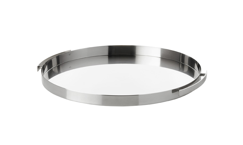 Stainless Steel Serving Tray~Arne Jacobson