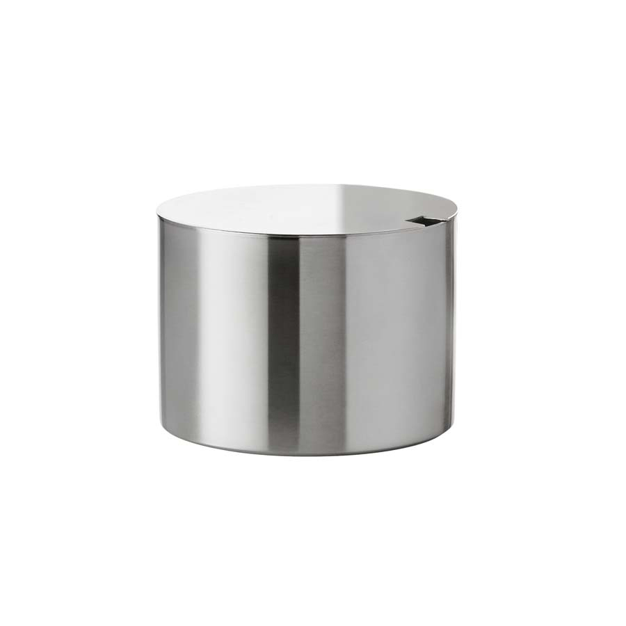 Stainless Steel Sugar Bowl~Arne Jacobson_THUMBNAIL