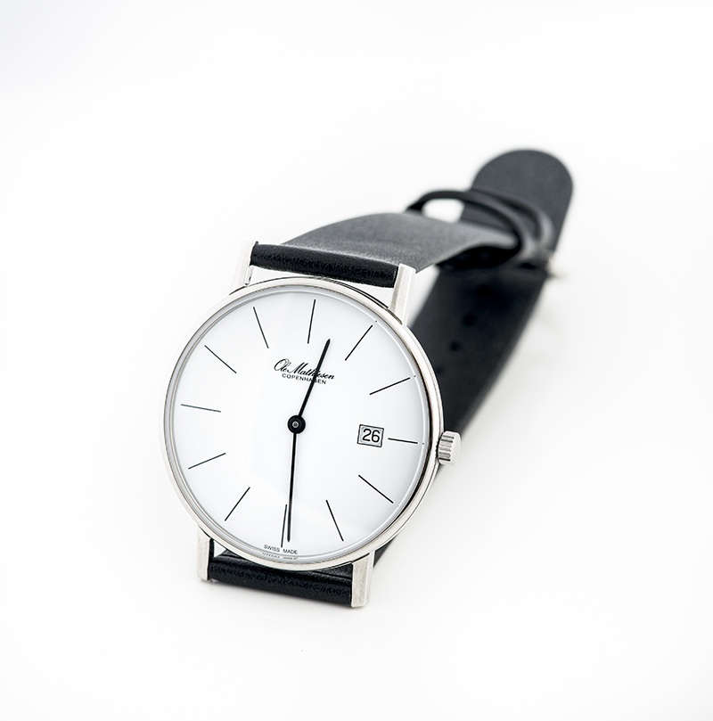 Ole Mathiesen Watch with Lines THUMBNAIL