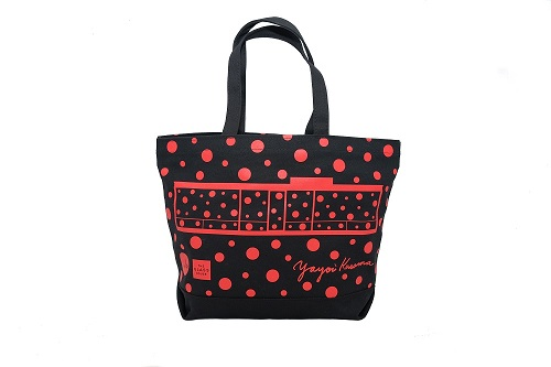 Yayoi Kusama Glass House Tote-RED_MAIN