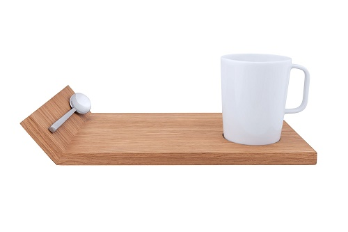 Serving Board with Cup and Spoon MAIN