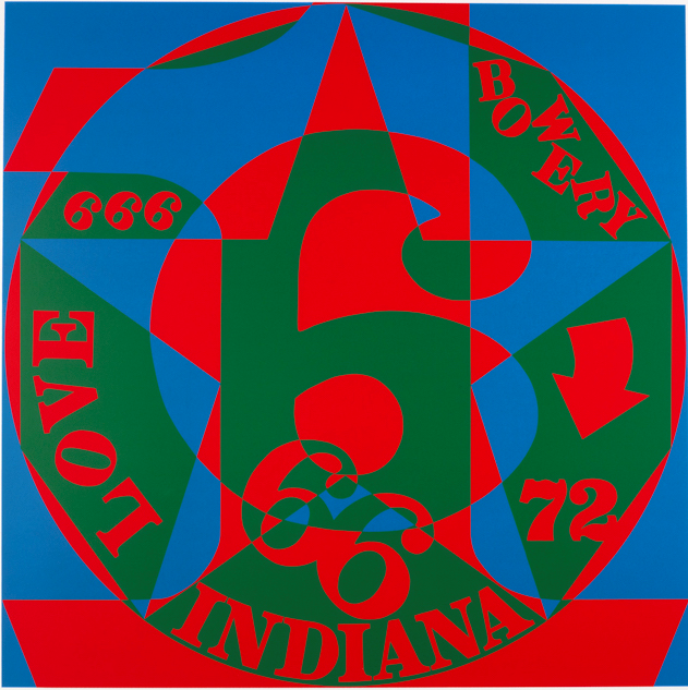 Robert Indiana: Decade Autoportrait 1966 THUMBNAIL