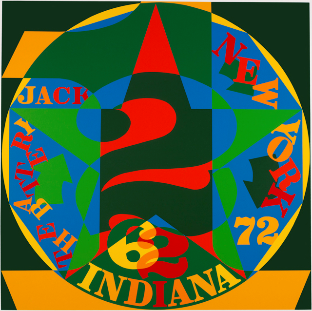 Robert Indiana: Decade Autoportrait 1962