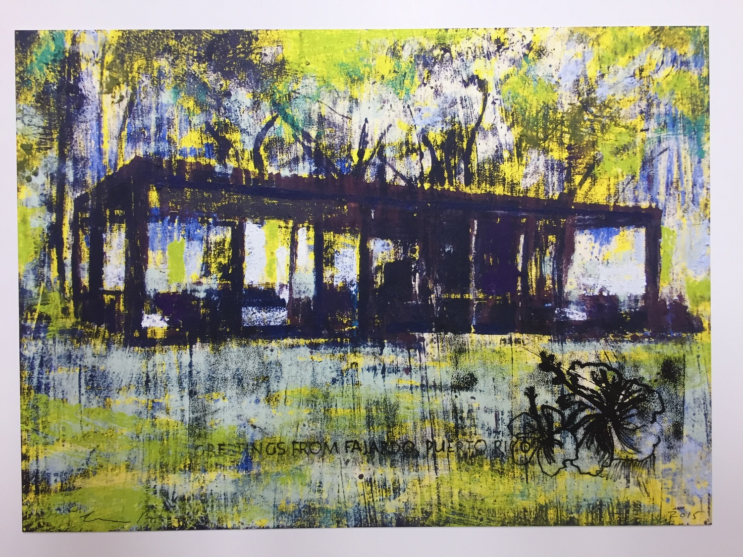 Enoc Perez: Glass House, II (Yellow) THUMBNAIL