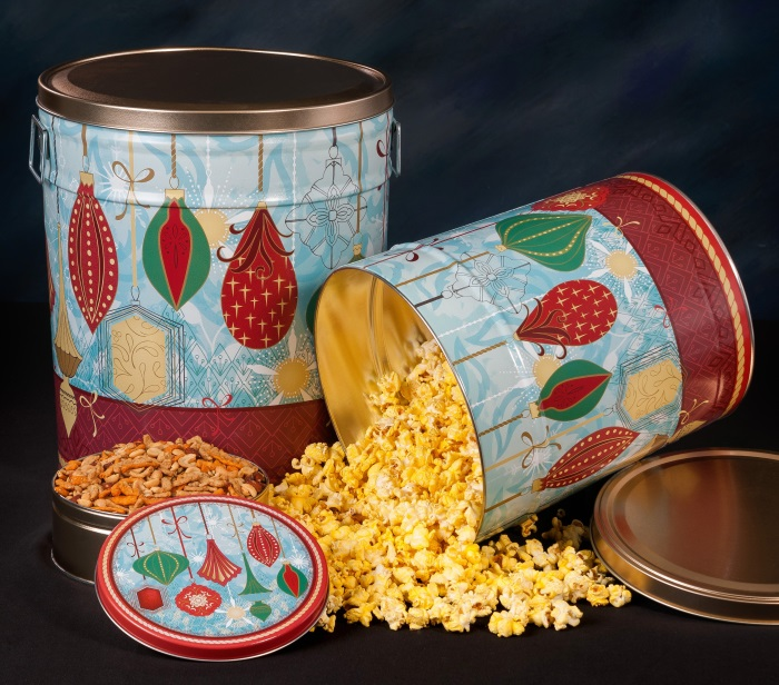 Contemporary Ornaments - Popcorn Tins