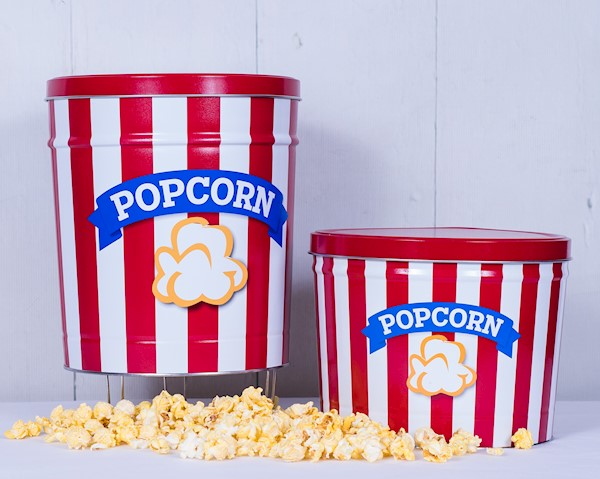 NEW! -Blue Ribbon Popcorn Tin THUMBNAIL
