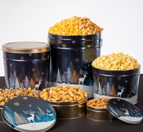 Crystal Evening - Popcorn Tins