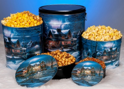 First Homecoming - Popcorn Tins
