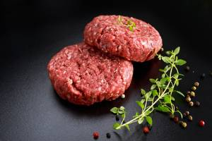 Grass Fed Wagyu Bulk Packaged Ground Beef 1 # LARGE
