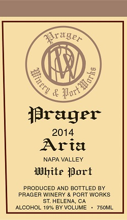 Aria White Port 2014 (750ml)