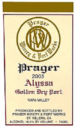 Alyssa Golden Dry Port 2005 (750ml) MAIN