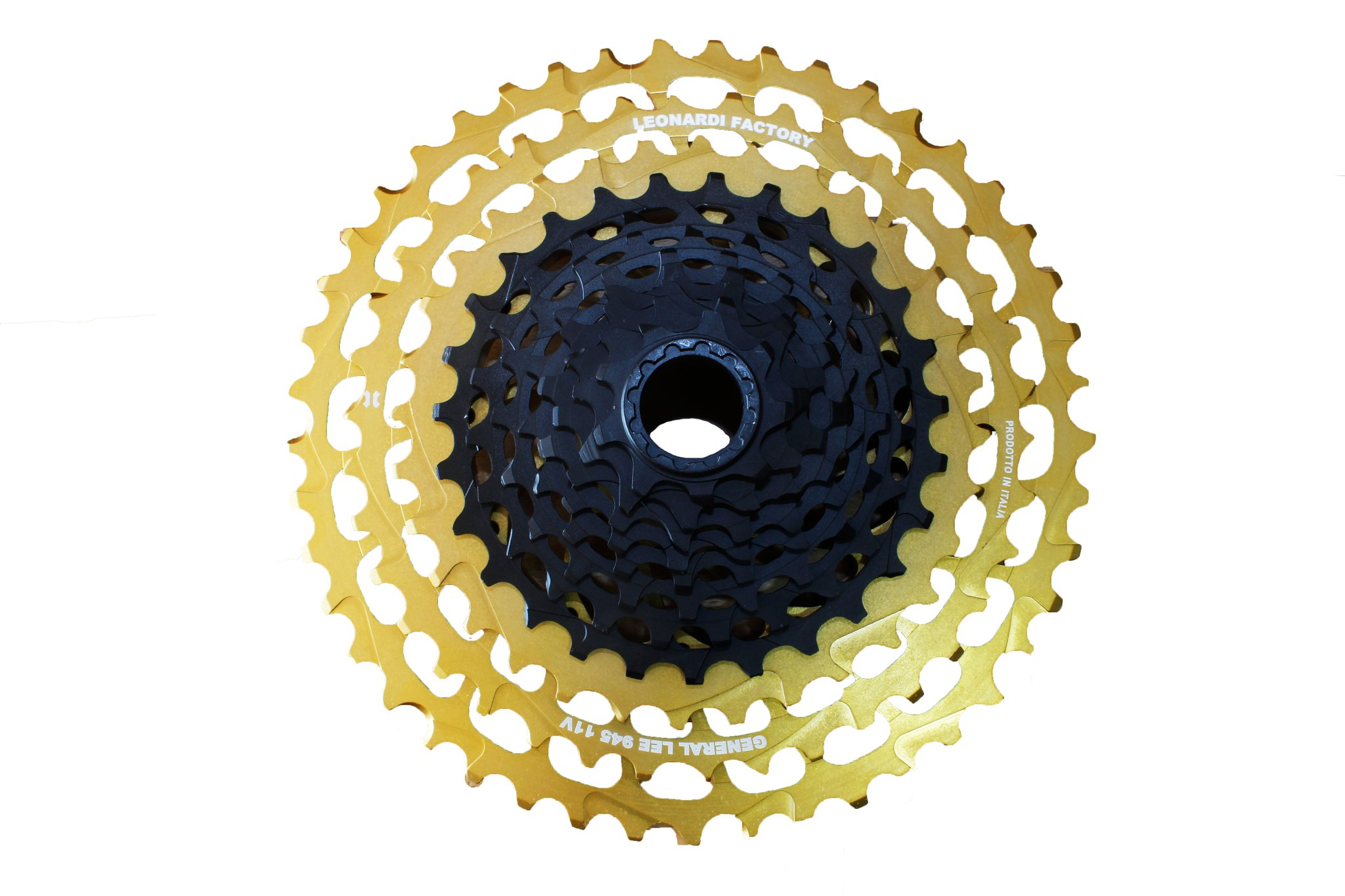 Leonardi Factory General Lee 945 V11 - 11 Speed Cassette Black/Gold
