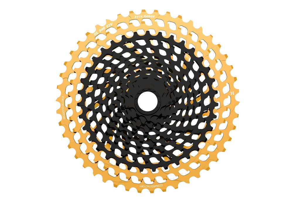 Leonardi Factory General Lee 946 V12 - 12 Speed Cassette Black/Gold THUMBNAIL