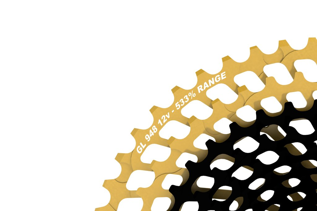 Leonardi Factory General Lee 948 V12 - 12 Speed Cassette Black/Gold MAIN