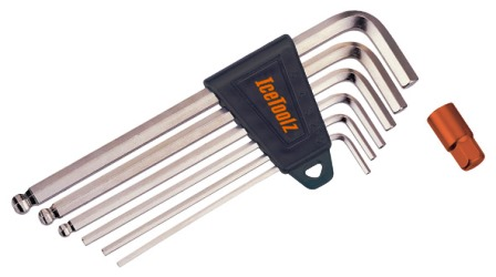 IceToolz 2-8mm Hex Key Wrench Set MAIN