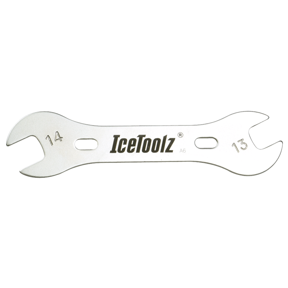 IceToolz 13x14 mm Cone Wrench - double ended THUMBNAIL