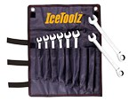 IceToolz 8-15mm Combination Ratchet Wrench Set