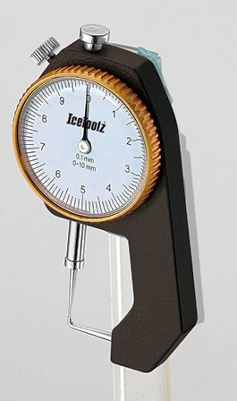 IceToolz Dial Thickness Gauge MAIN