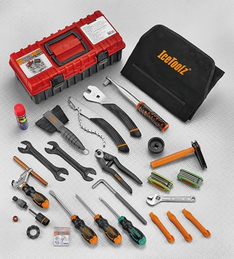 IceToolz Pro Shop Mechanic Tool Kit