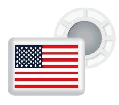 BibBits With USA Flag 4 inner and 4 outer magnets MAIN