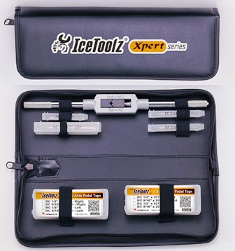 IceToolz Pro Shop Tap Set With Wrench MAIN