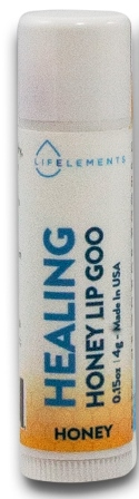 Life Elements Healing Honey Lip Goo