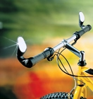 Adjustable handle bar mirrors for Mountain Bikes