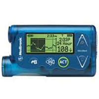 Medtronic MiniMed 530G System With Enlite 751 Insulin Pump Blue