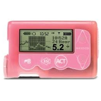 Medtronic MiniMed 530G System With Enlite 751 Insulin Pump Pink