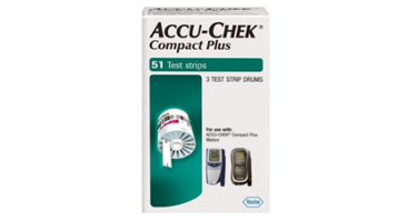 Roche Accu-Chek Compact Plus Test Strips_MAIN