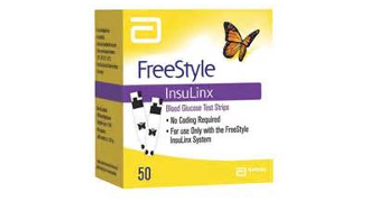 Abbott FreeStyle Insulinx Test Strips