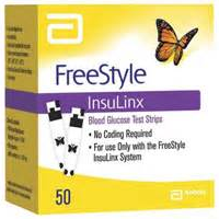 Abbott FreeStyle Insulinx Test Strips THUMBNAIL
