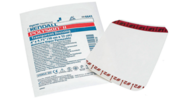 "Kendall Polyskin Transparent Dressing 4""x 4-3/4"" MAIN"