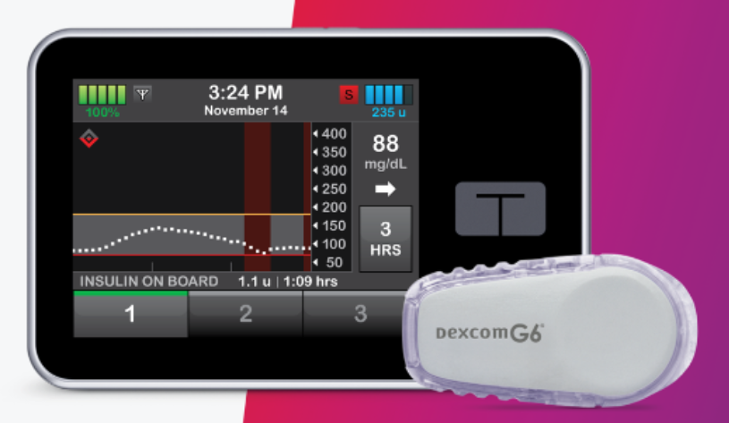 Tandem t:slim X2 Insulin Pumps with Basal - IQ Technology THUMBNAIL